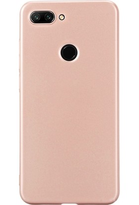 DVR Xiaomi Mi 8 Lite Kılıf Silikon Premier (Rose Gold)