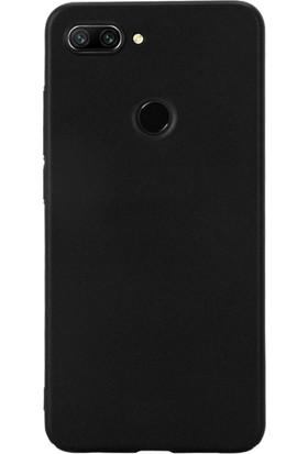 DVR Xiaomi Mi 8 Lite Kılıf Silikon Premier (Siyah) + Nano Cam Ekran Koruyucu