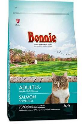 Bonnie Somonlu Kedi Maması 1.5 KG
