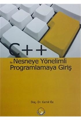 C++ İle Nesneye Yönelimli Programlamaya Giriş - Cemil Öz