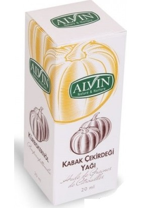 Alvin Kabak Çekirdeği Yağı 20ml