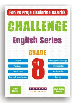 Platon 8.Sınıf Challenge Englısh Serıes