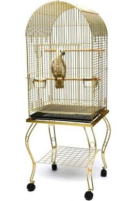 Best Cage P912 Sehpalı Papağan Kafesi Gold
