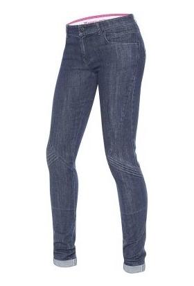 Dainese Jessville Lady Skinny Kot Pantolon Blue Denim