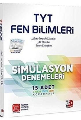 Çözüm Yayınları TYT Fen Bilimleri Simülasyon Denemeleri (15 Adet) - Mehmet Ali Yerlikaya
