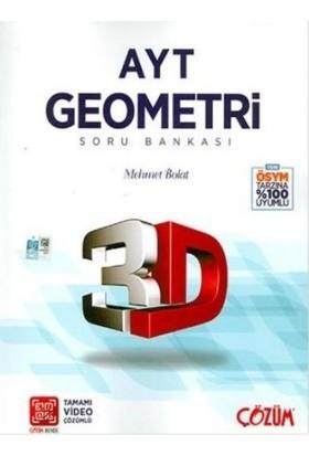 Çözüm Yayınları AYT 3D Geometri Soru Bankası - Mehmet Bolat