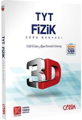 Çözüm Yayınları TYT 3D Fizik Soru Bankası - Celil Ürün Alper - Emrah Gümüş
