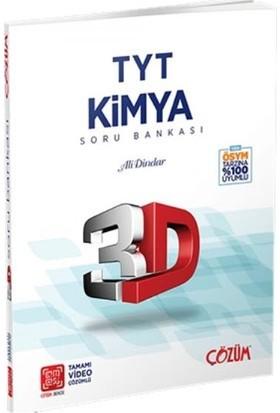 Çözüm Yayınları TYT 3D Kimya Soru Bankası - Ali Dindar
