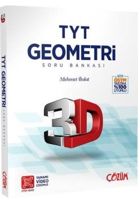 Çözüm Yayınları TYT 3D Geometri Soru Bankası - Mehmet Bolat