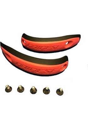 Dainese Kit Boots Slider Plas.16 Blk/Red/Fl