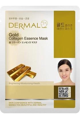 Dermal Gold Parlaklaştırıcı Nemlendirici Canlandırıcı Maske