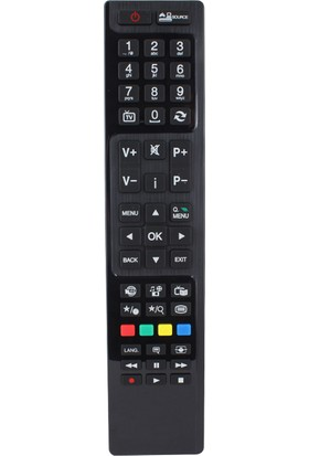 Tayfun Telefunken Lcd Led Tv Uyumlu Kumanda İnce Uzun Kalıp