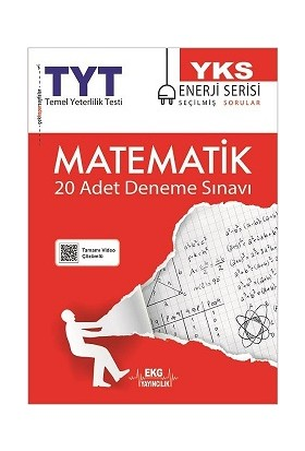Ekg Yayıncılık TYT Matematik Deneme Sınavı