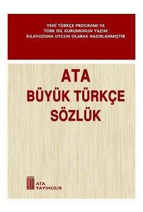 Ata Yayıncılık Büyük Türkçe Sözlük
