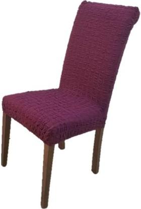 Ennor Likralı Bürümcük Sandalye Kılıfı / Ennor
