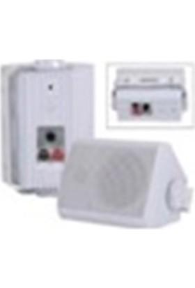 "Denox Master 115 5.25"" 30W+30W Wıfı+Bluetooth Dış Ortam Uyumlu Duvar Hoparlör Seti"