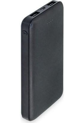 Dexim DCA0013-B 10000 mAh Slim Powerbank - Siyah