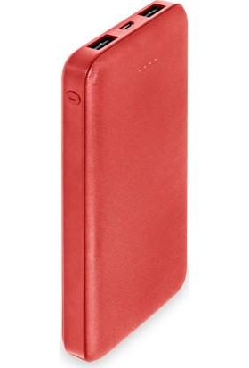 Dexim DCA0013-R 10000 mAh Slim Powerbank - Kırmızı