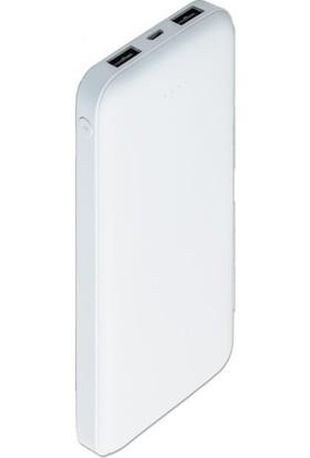Dexim DCA0013-W 10000 mAh Slim Powerbank - Beyaz