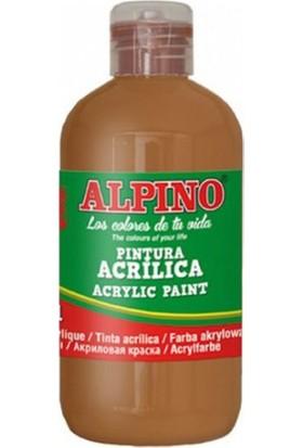 Alpino Akrilik Boya Kahverengi 250 Ml