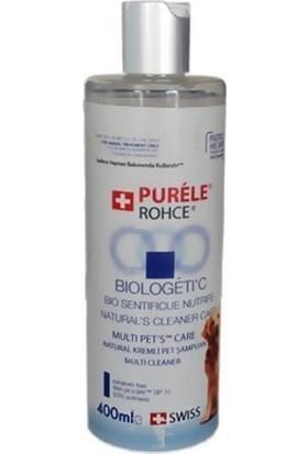 Purele Biologetic Losyon Naturel Kremli Kedi Köpek Şampuanı 400 Ml