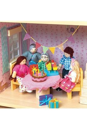 Le Toy Van Bebek Evi Aksesuarı Parti Zamanı Aksesuar