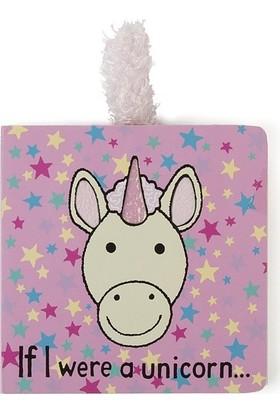 Jellycat Kitap Unicorn If I Were A Unicorn Book Bebek Kitabı
