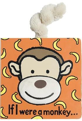 Jellycat Kitap Maymun If I Were A Monkey Board Book Bebek Kitabı