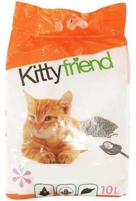 Kitty Friend Topaklaşan Kedi Kumu 10 lt