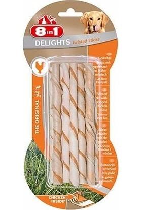 8in1 Delights Bones Köpekler İçin Twested Sticks 10 Lu