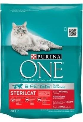 Purina One Sığır Etli Kısırlaştırılmış Kedi Maması 800 gr
