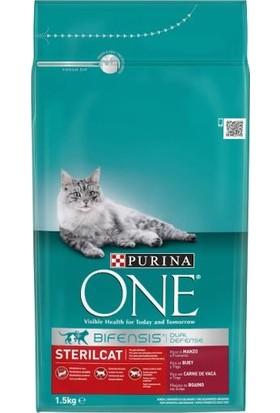 Purina One Sığır Etli Kısırlaştırılmış Kedi Maması 1,5 kg