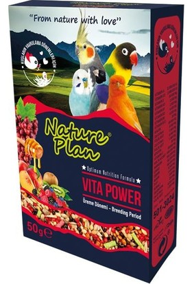 Nature Plan Vita Power Üreme Dönemi 50 gr