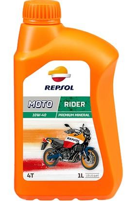 Repsol Motor Yağı Repsol 10W40 4T 1Lt Moto Rıder 4T