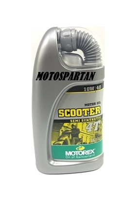 Motorex Motorex 4T Scooter Motor Yağı 10W/40 Yarı Sentetık 1Lt