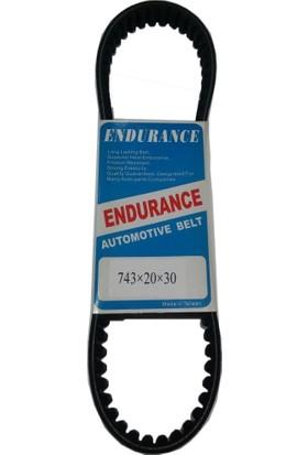 Taıwan Kayış Taıwan Endurance 743-20-30 Honda Fızy Mt125 Zn125 Rt Kv Rr-25 Upm Znu Rt-A Nt Ard-25 Scooter 125Cc