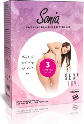 Lovetoy Sonia Doll 3 İşlevli Kaliteli Şişme Bebek Kadın Manken
