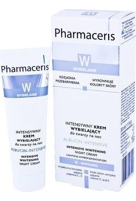 Intensive Whitiening Nigt Cream Albucin Intensive Gece Kremi 30ml