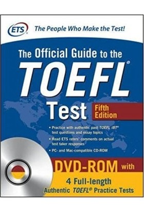 Official Guide To The Toefl Test, 5Th Edition