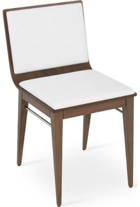 Adas Sandalye Masif Ahşap Yemek Sandalyesi