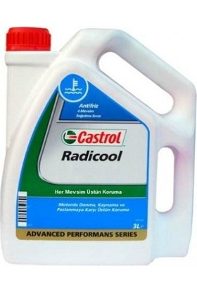 Castrol Radicool Antifiriz 3 Litre Mavi