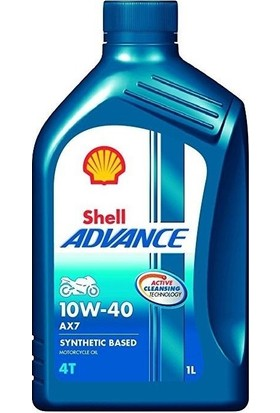 Shell Advance 4T Ax7 10W40 1 Litre