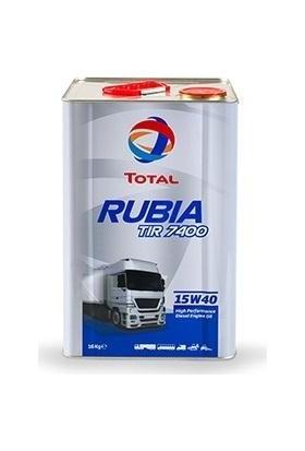 Total Rubıa 7400 15W40 Teneke 18 Litre