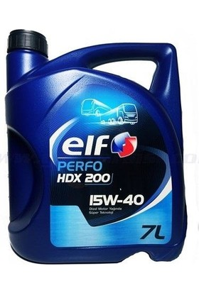 Elf Performance Hdx 200 15W40 7 Litre