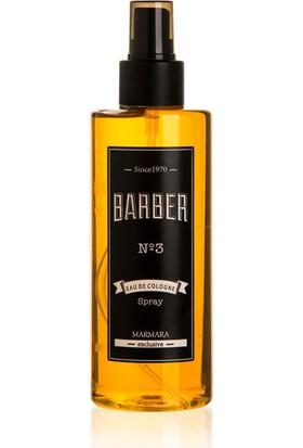 Barber Kahverengi Parfümlü Sprey Kolonya 250 ml