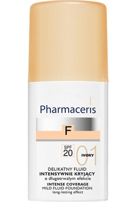 Pharmaceris Yumuşak Sıvı Fondöten Spf 20 /01 Ivory Yoğun Kapatıcı 30 ml