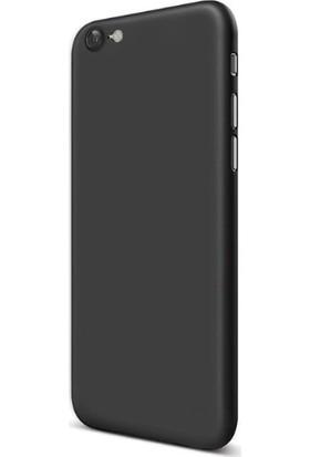 Cafele Apple iPhone 8 Silikon Kılıf Siyah + Ekran Koruyucu