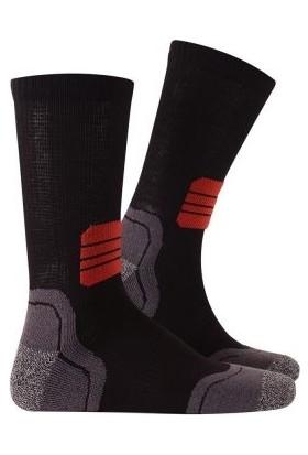 Thermoform Running Çorap 3 Çift 2 Çift Siyah / 1 Çift Antrasit-35/38