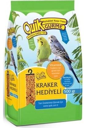 Quik Gurme Muhabbet Kuşu Yemi 500 gr