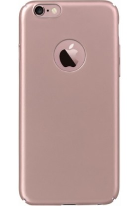 RedClick Apple iPhone 6 / 6S Düz Rubber Kılıf Rose Gold Arka Kapak